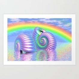 Strandgut Art Print