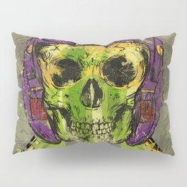 Skull Pilot Pillow Sham