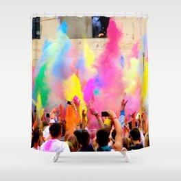 Holi Open Air Festival Berlin Shower Curtain