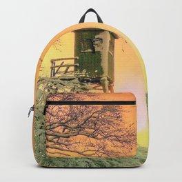Winter romantic Backpack