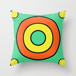 mint target Throw Pillow