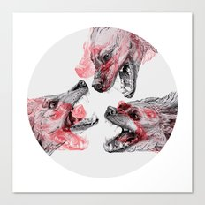 Pack Mentality Canvas Print