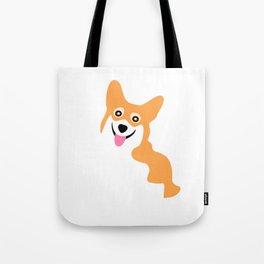 Corgi Smile Tote Bag