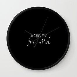 Tyler Joseph- Stay Alive Wall Clock