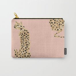 Wild Cheetah Carry-All Pouch