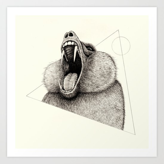 'Wildlife Analysis III' Art Print