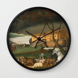 Edward Hicks - Noahs Ark Wall Clock