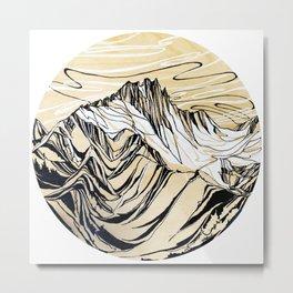 Balance , Alpha Metal Print