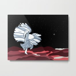 Dancing On Pluto Metal Print