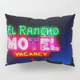 El Rancho Motel ... Pillow Sham