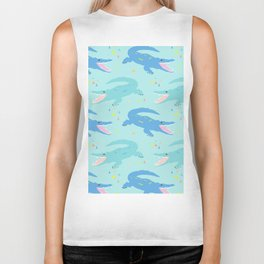 Nile Crocodile Rock Biker Tank