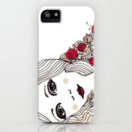 Flora May iPhone Case