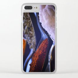 A Spoonful of Spice Clear iPhone Case