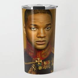Will Smith - replaceface Travel Mug