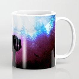 Abstract Space Wolf Coffee Mug