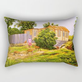 Following Maa BARBADOS Rectangular Pillow