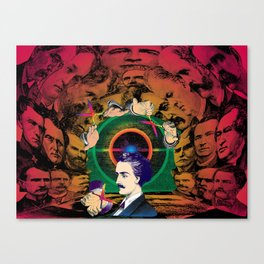 The Human Cave Canvas Print