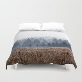 Lost In Fog Duvet Cover