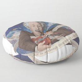Albert Einstein Floor Pillow