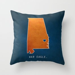 War Eagle Throw Pillow