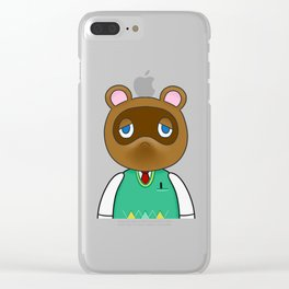 Tom Nook Clear iPhone Case