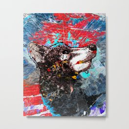 Epic wolf art Metal Print
