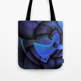 Blue Style Tote Bag