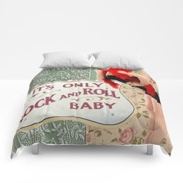 It's Only Rock n' Roll Baby Comforters