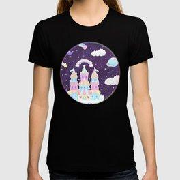 Dreamy Cute Space Castle T-shirt