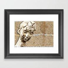 Everywhere I Go, There I Am Framed Art Print