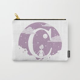 Lilac C Carry-All Pouch