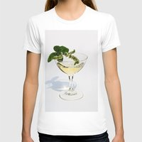martini T-shirts featuring  Peppermint Martini by Guna Andersone & Mario Raats - G&M Studi