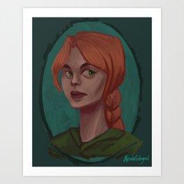 Demetria Hawke Art Print