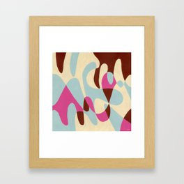 Neopolitan and Ice Framed Art Print