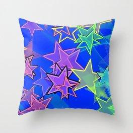 Stars Forever Throw Pillow