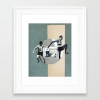 physics Framed Art Prints featuring PHYSICS! by Merzka