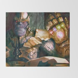 Thanos: Infinity Gauntlet  Throw Blanket