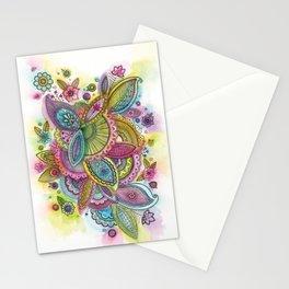Fairground Paisley Stationery Cards