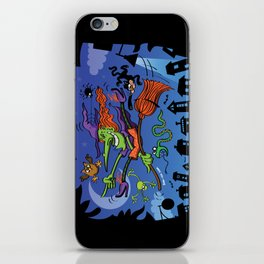 Crazy Witch iPhone Skin