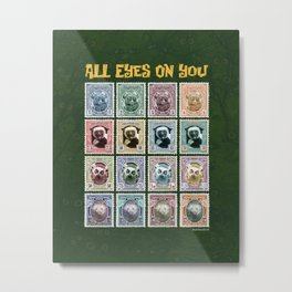 All Eyes On You Metal Print
