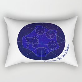 Trust Me, I'm The Doctor (Text) - Doctor Who Rectangular Pillow