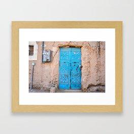 Door To The Past Framed Art Print