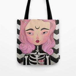 SKULLY ♡ KELLY Tote Bag