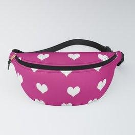 Love Pink Pattern Fanny Pack