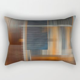 Uninhabited Mosaic (Zig Zag) Rectangular Pillow
