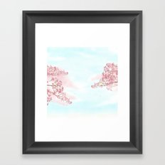 A day for cherry blossom | Miharu Shirahata Framed Art Print