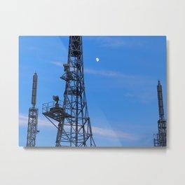 Hakodate Antennas Metal Print