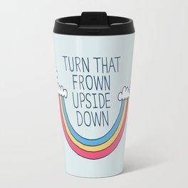 Upside Frown Travel Mug