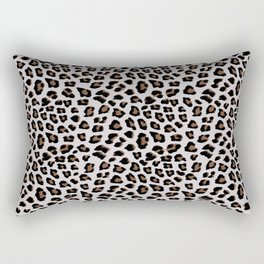 Leopard Animal Print Rectangular Pillow