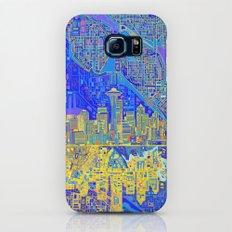 seattle city skyline Slim Case Galaxy S8